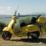La Vallata - Vespa in Umbria