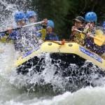 Rafting, canoe...