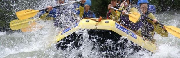 Rafting, canoe…