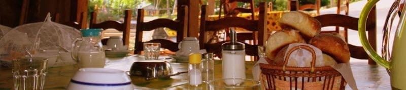 Eten drinken rusten genieten